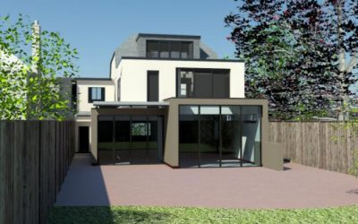 Ask My Architect Submits Planning Application for Full House renovation and extension in Richmond, London